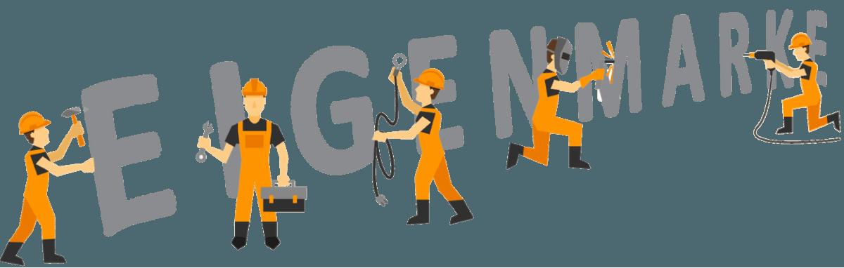 Baustelle Eigenmarken